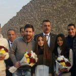 Messi no Egito