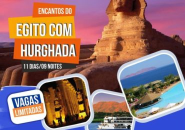 Encantos do Egito com Hurghada. Viagem da semana Santa