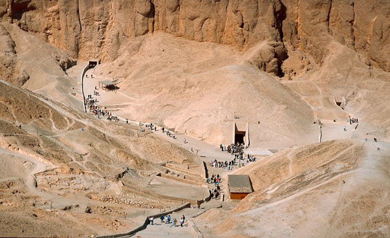 Luxor oeste, Vale dos Reis