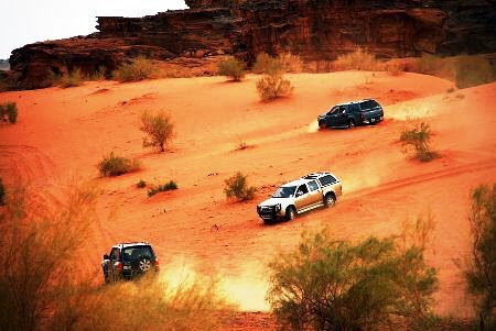 Wadi Rum Jeep na Jordânia