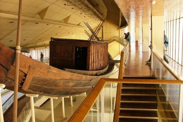Museo da Barca solar. Giza