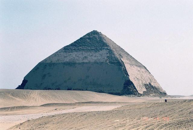Pirâmide Inclinad em Dahshur