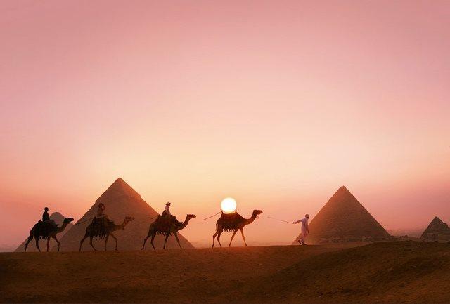Passeios as Pirâmide de Gizé