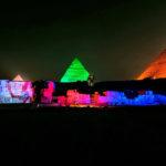 Show de luz e som nas Pirâmides de Giza