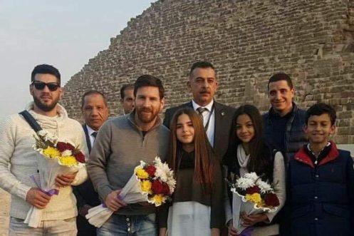 Visita de Messi ao Egito