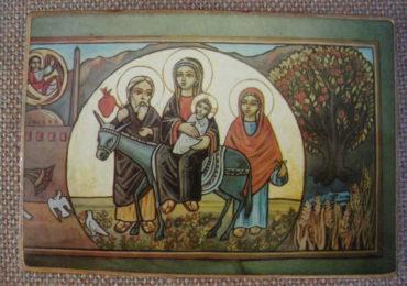 Icone Família Sagrada no Egito