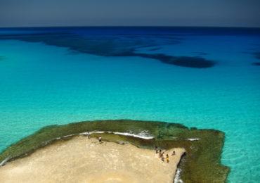 Praia em Marsa Matrouh, Egito