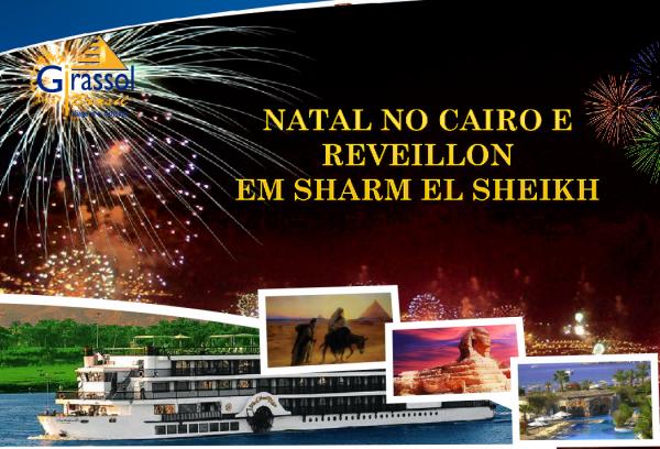 Natal e Réveillon no Egito