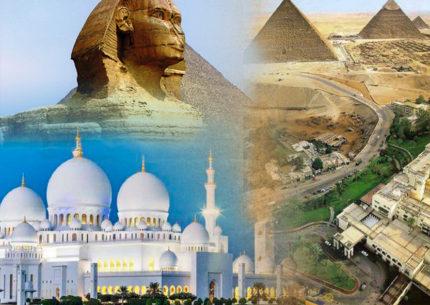 Viagem Egito com Abu Dhabi