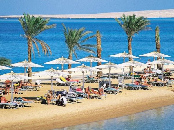 Hurghada, uma praia