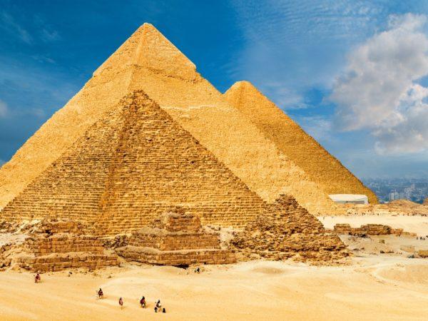 Pirâmides de Gizé no Egito