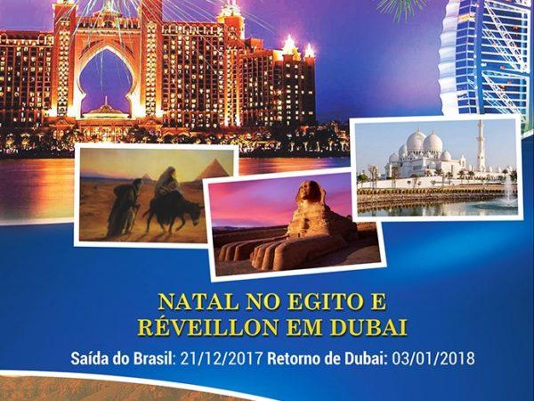 Natal no Egito com Réveillon em Dubai
