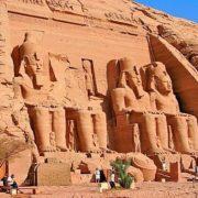 Fascínio do Egito com Fenómeno do Sol