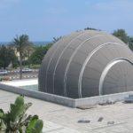 O Planetário do Science Center em Alexandria