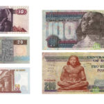 moeda no Egito