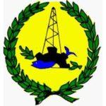bandeira e emblema da província Norte de Sinai