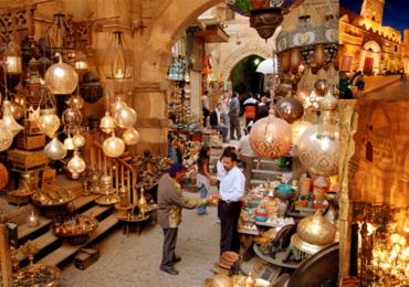 Compras no Cairo