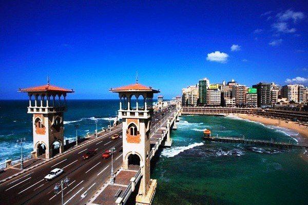 Alexandria, cidade, Ponte Stanly