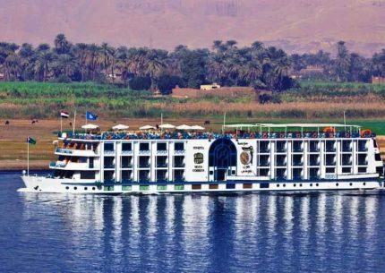 Cruzeiro no rio Nilo por 4 noites
