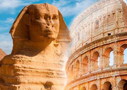Egito Milenar com Roma