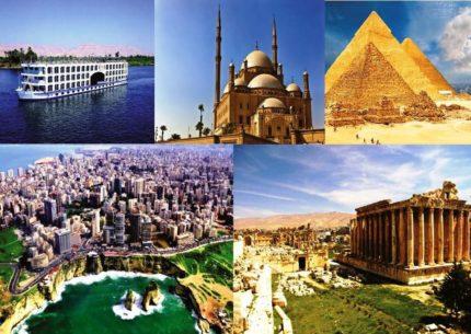 Viagem ao Egito com Líbano