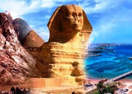 Cairo com Monte Sinai e Sharm El Sheikh