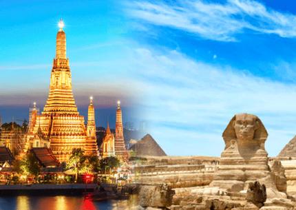 Viagem ao Egito Milenar com Bangkok