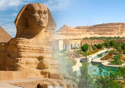 Oasis Siwa com Cairo e Alexandria